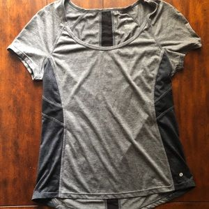 Quick-dry workout short sleeve top